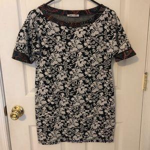 Dresses & Skirts - Multi Print T-Shirt Dress with Pockets